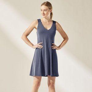 NEW Athleta Santorini Support Dress Navy M